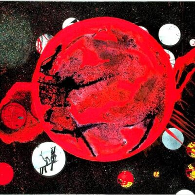 Blazing-Sun-Ball-of-Fire-100cm-x-80cm-Mixed-media-gloss-acrylic-painting-on-canvas